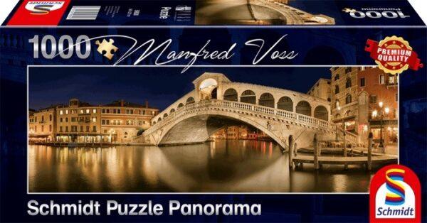 Schmidt Puzzle – Rialto Brücke, Venedig, 1000 db