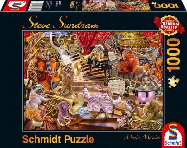 Schmidt Puzzle-Music Mania, 1000 db
