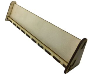 Kártya állvány fából - Nagy