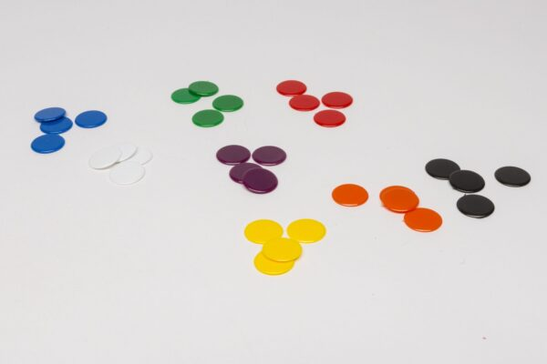 Műanyag zseton 15 mm