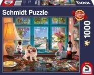 Puzzle Schmidt Puzzle – Puzzlers Desk, 1000 db