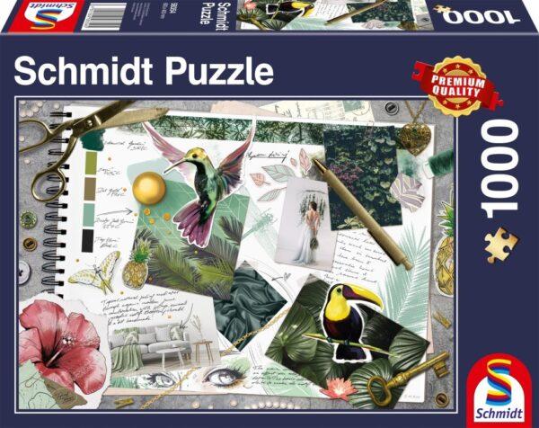 Schmidt Puzzle Stílus kollázs, 1000 db