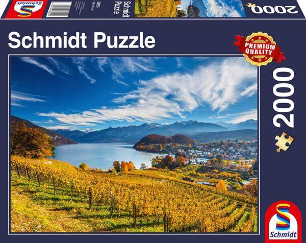 Schmidt Puzzle Vineyards, 2000 pcs