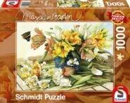 Puzzle Schmidt Puzzle – Frühlingsblüher, 1000 db