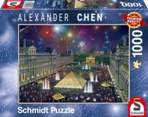 Schmidt Puzzle – Fireworks at the Louvre 1000 db