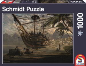 Schmidt Puzzle - Ship at ancor 1000 db
