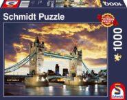 Puzzle Schmidt Puzzle – Tower Bridge London, 1000 db
