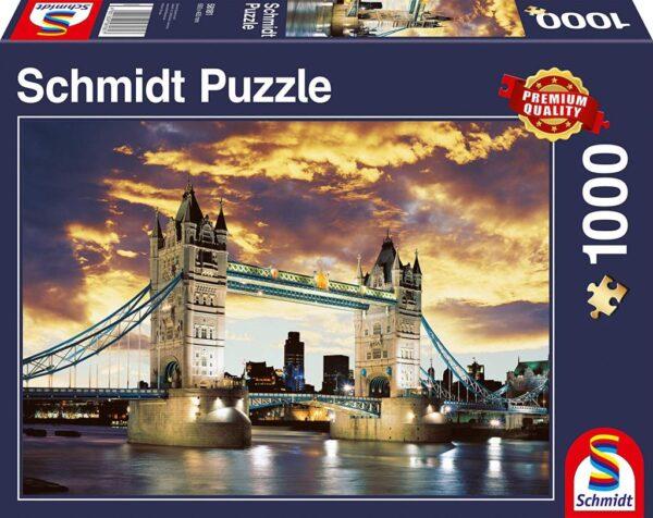 Schmidt Puzzle - Tower Bridge London 1000 db