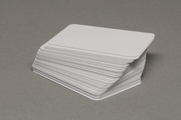 Játékalkatrészek Üres mini euro kártya 55 lapos