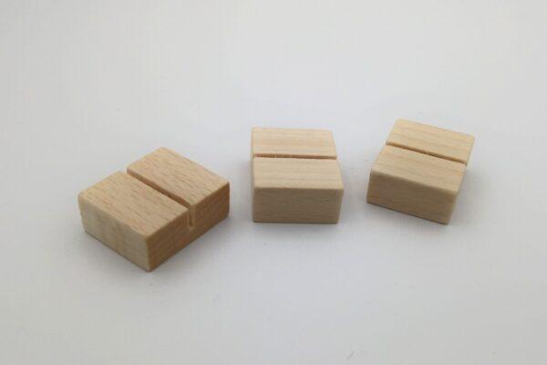 Kártya tartó fából kicsi