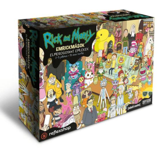 Rick és Morty Emrickmások társasjáték