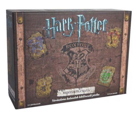 Harry Potter Roxforti csata