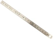 Stanley acélvonalzó 20 cm