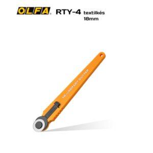 OLFA Textilkés RTY-4 -18 mm-es körpengével