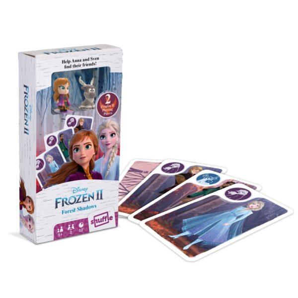 Jégvarázs 2. kártya két figurával árnyék játék társasjáték