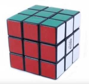 Rubik kocka 3x3 kék dobozos