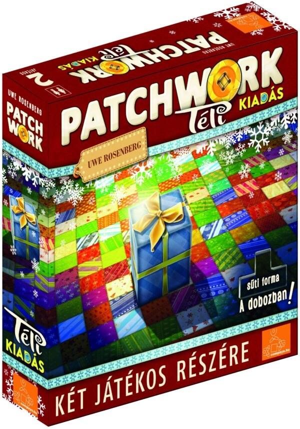 Patchwork Téli kiadás társasjáték