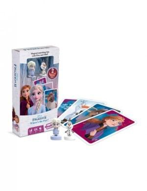 Jégvarázs 2. kártya két figurával párosító társyasjáték