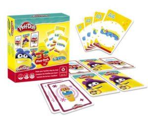 Play Doh kártyázz és gyurmázz társasjáték
