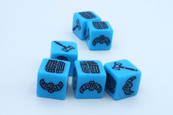 Viking kocka kék