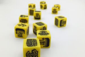 Viking kocka sárga
