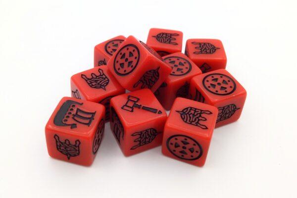 Viking kocka piros