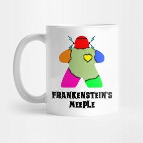 Bögre Frankenstein's Meeple