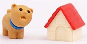 Kutya házzal radír