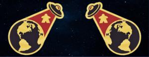 Bögre UFO Meeple