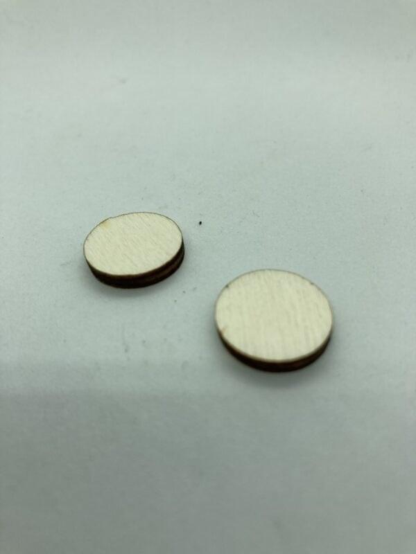 Rétegelt lemez korong 15x3 mm