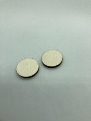 Rétegelt lemez korong 20x3 mm