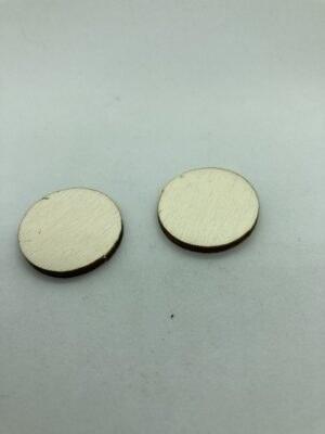 Rétegelt lemez korong 25x3 mm