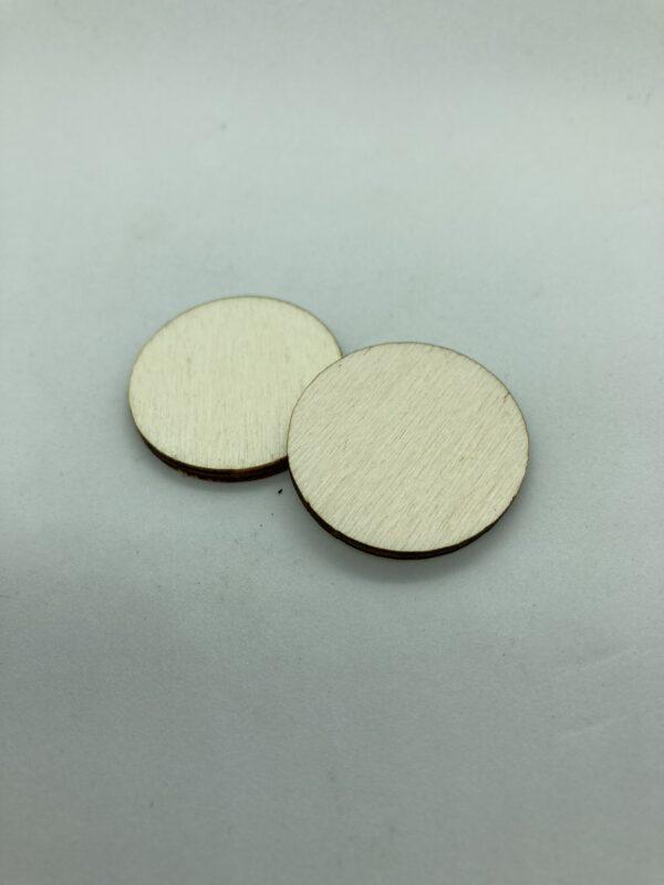 Rétegelt lemez korong 30x3 mm