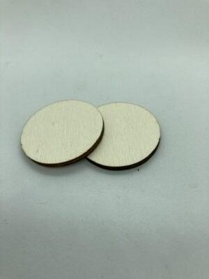 Rétegelt lemez korong 35x3 mm