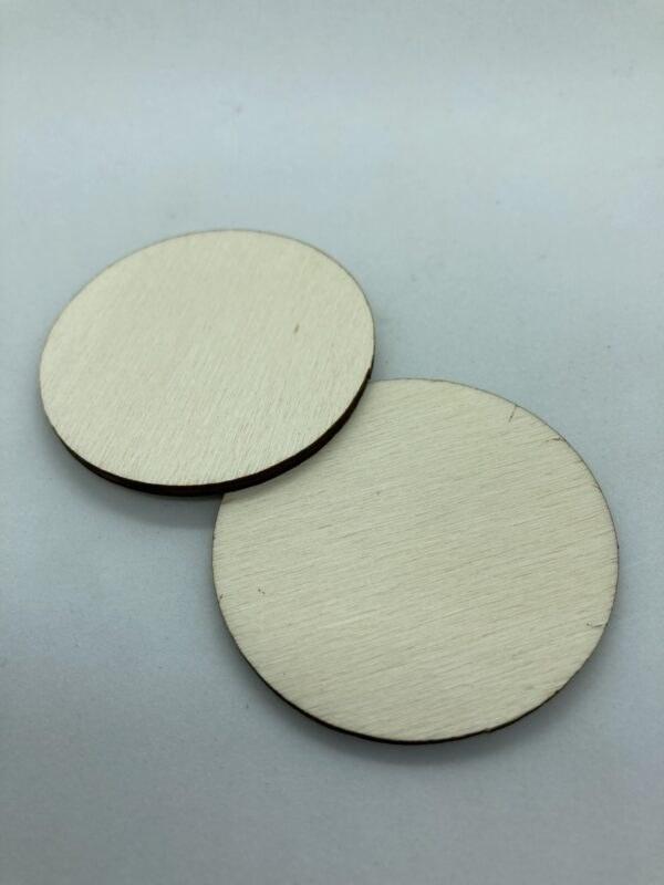 Rétegelt lemez korong 50x3 mm