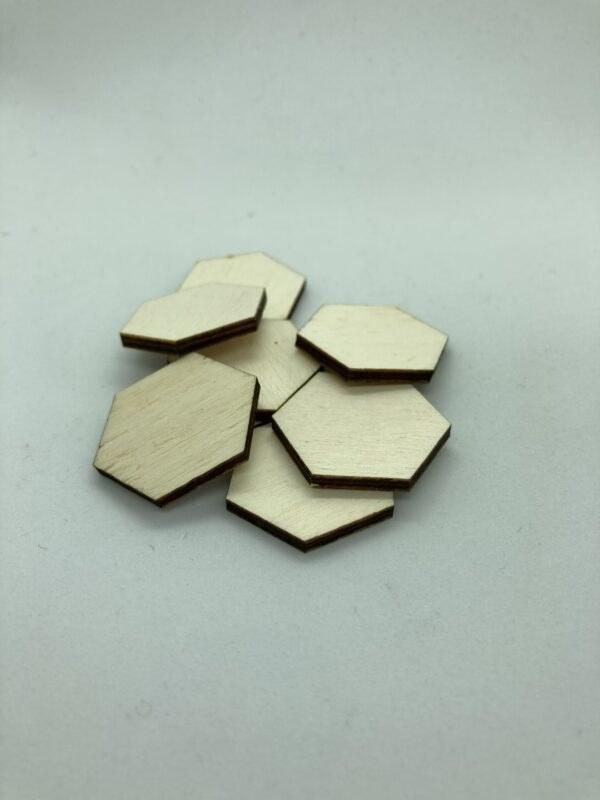 Rétegelt lemez hatszöglapka 30mm