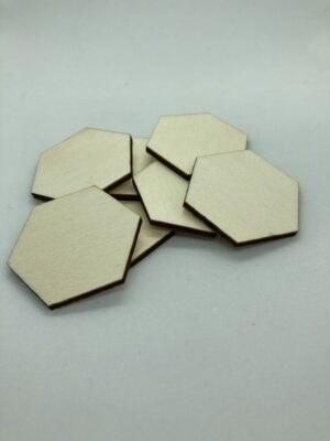 Rétegelt lemez hatszöglapka 45mm