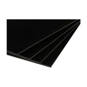 Habkarton A3 fekete 5mm
