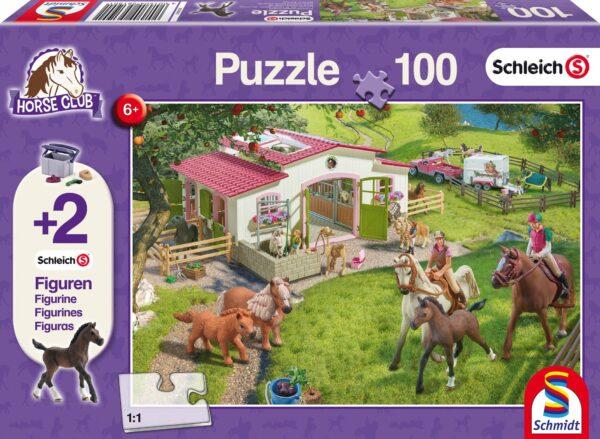 Schmidt Puzzle-Lovas kirándulás, 100 db