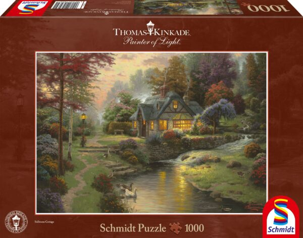 Schmidt Puzzle-Stillwater Cottage, Thomas Kinkade, 1000 db