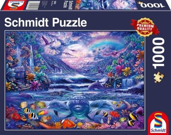 Schmidt Puzzle-Moonlight oasis, 1000 db