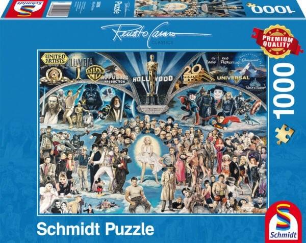 Schmidt Puzzle-Hollywood, Renato Casaro, 1000 db
