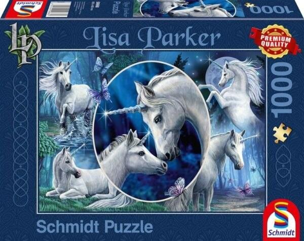 Schmidt Puzzle-Charming unicorns, 1000 db
