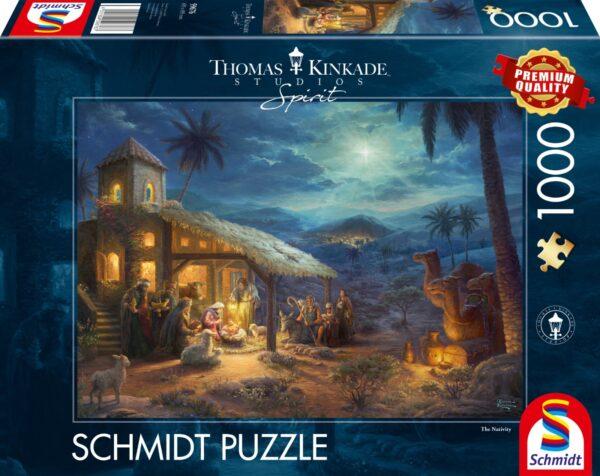 Schmidt Puzzle-Spirit, The Nativity, 1000 db