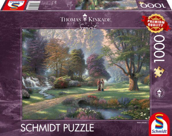 Schmidt Puzzle-Spirit, Walk of Faith, 1000 db