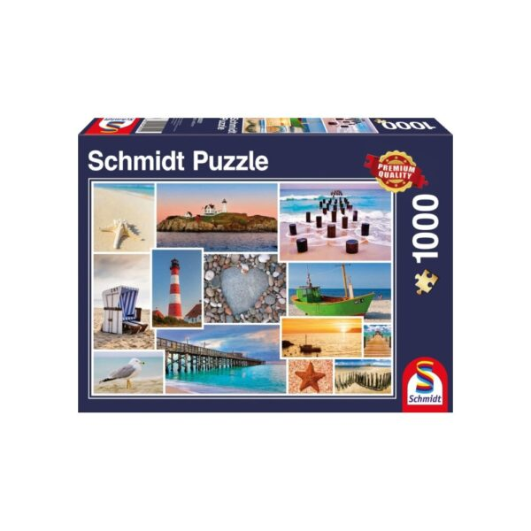 Schmidt Puzzle-By the Sea, 1000 db