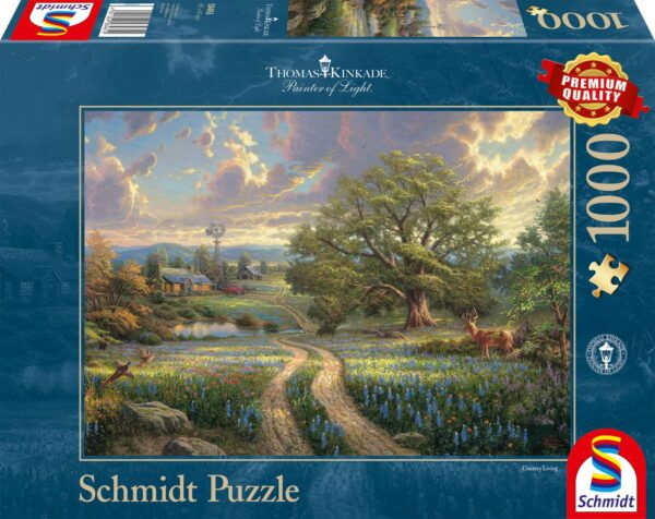 Schmidt Puzzle - Contry Living, 1000 db