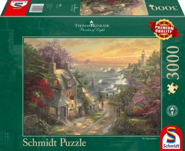 Schmidt Puzzle - The Village Lighthouse 3000 db