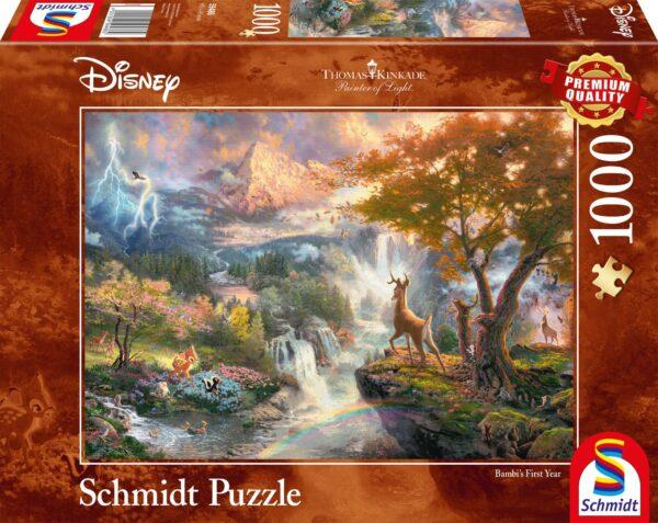 Schmidt Puzzle - Disney Bambi 1000 db