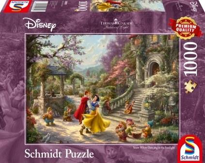 Schmidt Puzzle - Disney Schneewittchen - Tanz mit dem Prinzen 1000 db